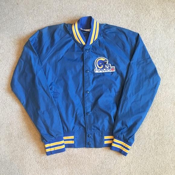 e9e847eb Vintage Chalkline LA Rams Satin Jacket. Men's Med
